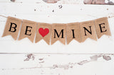 Valentine's Decor, Red Be Mine Banner