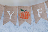 Fall Decor, Happy Fall Banner