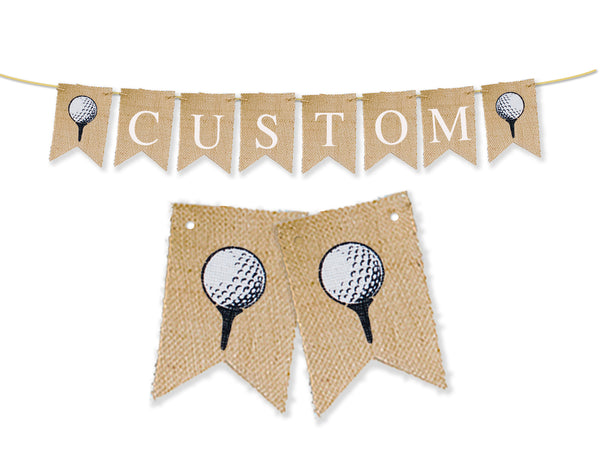 Custom Sports Decor, Golf Personalized Banner
