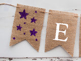 Baby Shower Decor, Twinkle Twinkle Little Star Personalized Banner