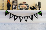 Halloween Decor, Spooky Banner
