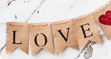Wedding Decor, Love You More Banner