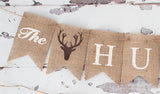 Engagement Decor, The Hunt Is Over Banner