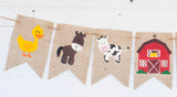 Farm Decor, Farm Animals Banner