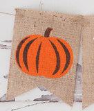 Fall 1st Birthday Decor, Pumpkin One Banner