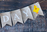 Farm Decor, Farm Animals Happy Birthday Banner