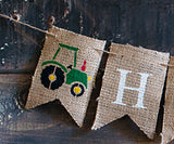 Farm Decor, Tractor Happy Birthday Banner