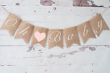 Baby Shower Decor, Oh Baby Banner