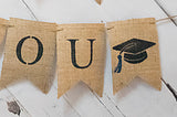 Graduation Decor, We Are So Proud Of You Banner