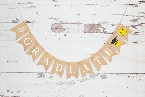 Graduation Decor, Graduate Banner