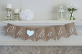 Gender Reveal Decoration, Boy Gender Announcement Oh Baby Banner