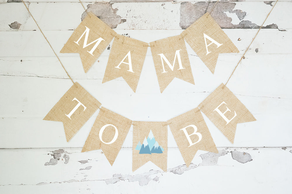 Baby Shower Decor, Tribal Mama to Be Banner