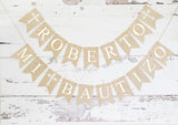 Religious Decor, Personalized Mi Bautizo Banner