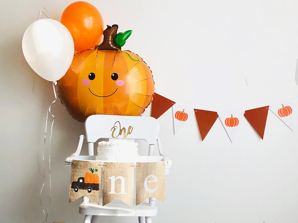 Fall First Birthday Collection | Pumpkin 1st Birthday Banner | Smash Cake Kit