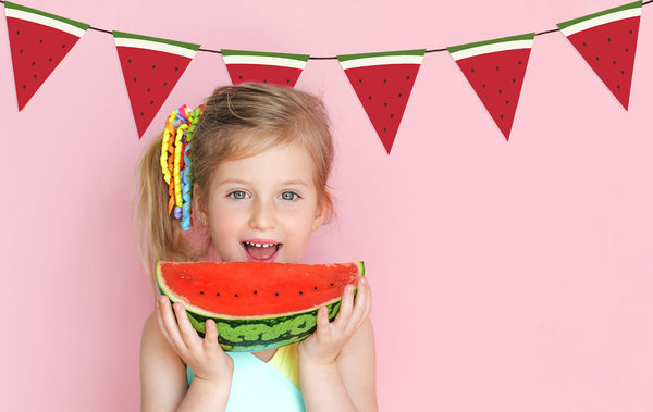 Summer Party Decor, Watermelon Party Banner
