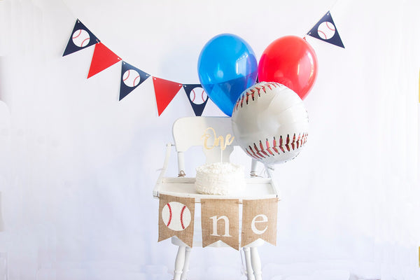Baseball First Birthday Collection