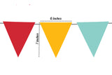 Wedding Decor, Cardstock Mustache & Lips Banner