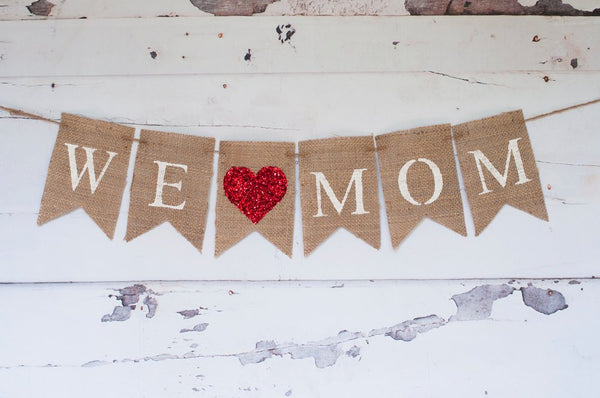 Mother's Day Decor, Mother's Day Banner, Mother's Day  Garland,, Mother's Day Photo Prop, B303