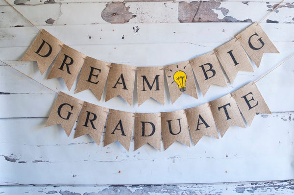 Graduation Party Decor, Class of 2017 banners, Graduation Banner, Graduation Party Decorations, 2017 Graduation Banners, Burlap Banner, B434