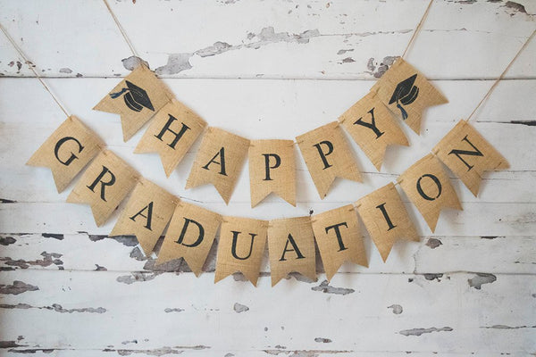 Class of 2019, Graduation Decorations, Happy Graduation Banner, Graduation Party Decor, B494