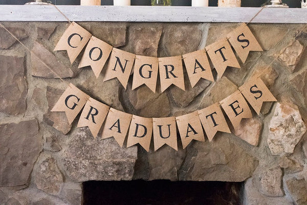 Class of 2019 School Decorations, Congratulations Graduates Banner, Graduation Party Decor, Class of 2019 Graduation Banners, B497