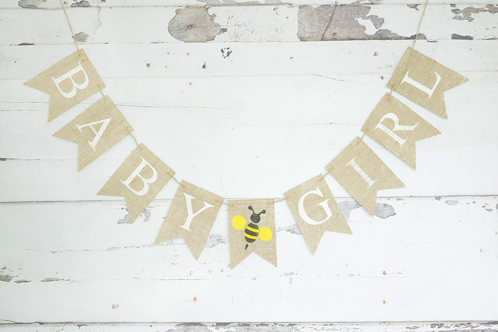 What Will it Bee Shower Decorations 1st Bee Day Photo Backdrop//Bee Banner//Bumble Bee Nursery//Birthday Garlands