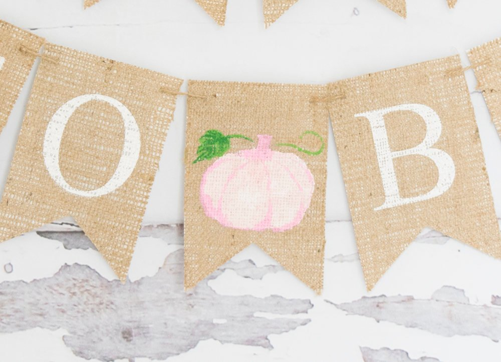 Fall Baby Shower Decor, Mama To Be Banner, Pumpkin Baby Shower Decor, Mom To Be Banner, Baby Shower Banner, Watercolor Pumpkin, B870