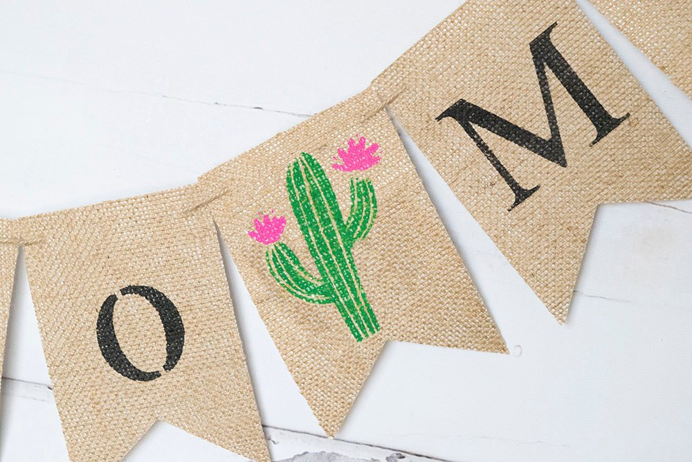Fiesta Bridal Shower Decor, Cactus Miss to Mrs Banner, Fiesta Bachelorette Party Decor, Cactus Bridal Shower Decoration, B928