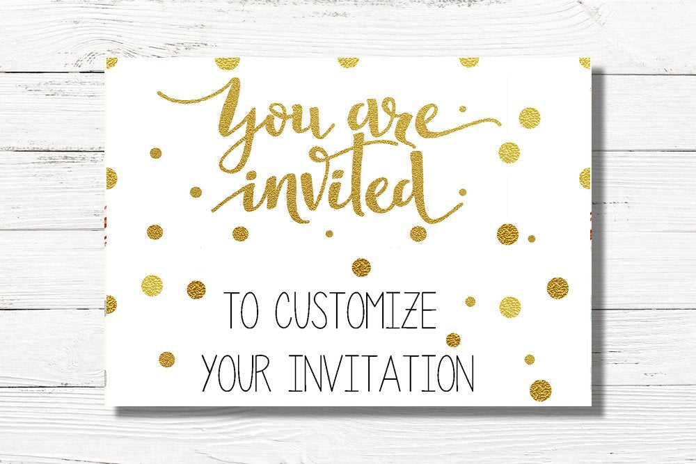 Customize Your Invitation