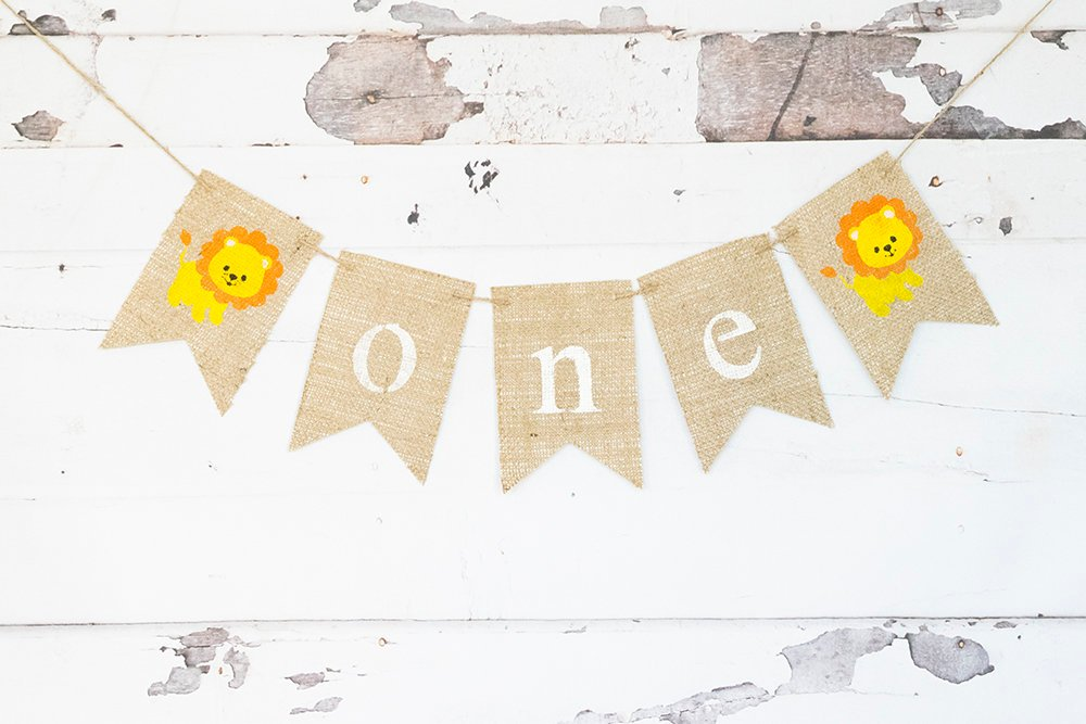 Jungle Party Decorations, Lion 1st Birthday Party, Safari 1st Birthday Sign, Little Lion 1st Birthday Party Banner, Zoo Animal Party, B802