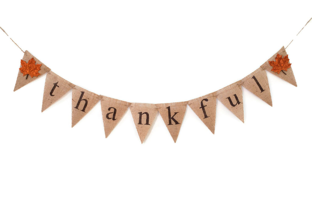 Thanksgiving Decor, Fall Decor, Autumn Banner, Thankful Banner, Thanksgiving Banner, Thanksgiving Garland, Thanksgiving Sign, B019