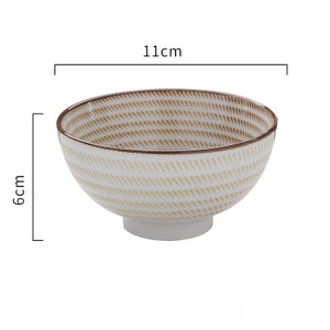 Japanese classical ceramic tableware- Soup, Noodle Bowls, Rice Bowls and Spoons- Variety of Sizes