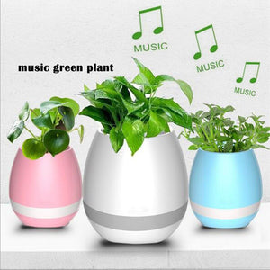 Smart Bluetooth Music Flower Pots Speaker kezyb.myshopify.com