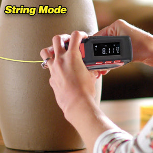 3-in-1 Digital Tape Measuring String