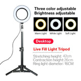 Selfie Ring Light with Tripod for Smartphone Makeup