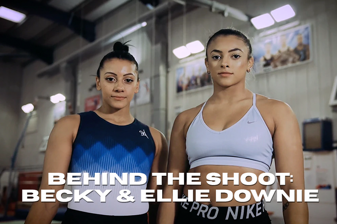 Behind the Shoot with Becky and Ellie Downie