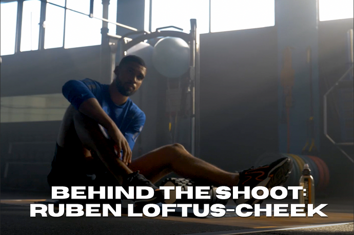 Behind the Shoot: Ruben-Loftus Cheek