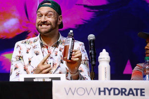 WOW HYDRATE fuels Tyson Fury