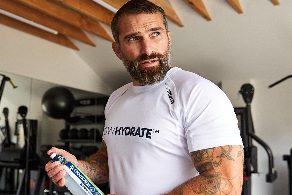 Ant Middleton - Ambassador for WOW Hydrate