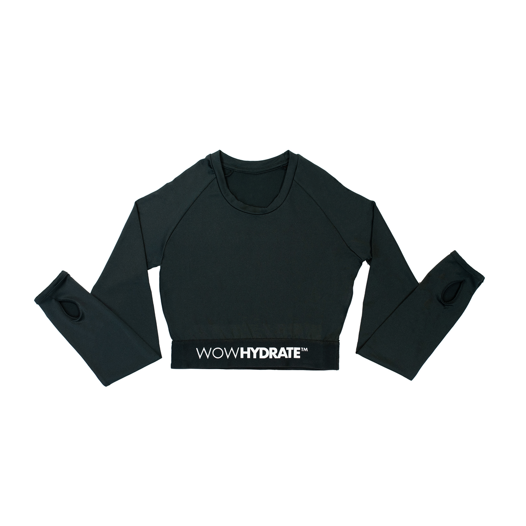 Black Crop Top | WOW CLUB