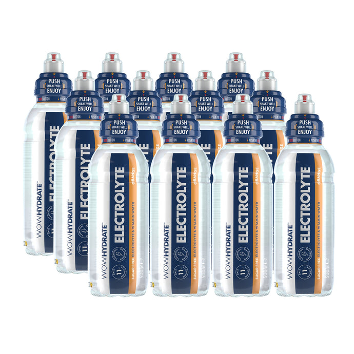 Orange - Electrolyte Sports Drink - WOW Hydrate