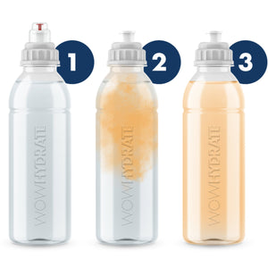 Push Cap Technology - Orange - Electrolyte Drink - WOW Hydrate