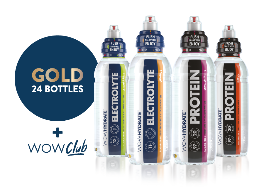 Gold Subscription - WOW Club - WOW Hydrate