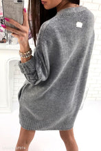 Load image into Gallery viewer, Plain Knit Batwing Sleeve Cardigans
