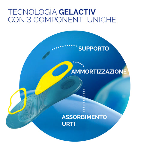Solette GelActiv Everyday Uso Quotidiano Uomo