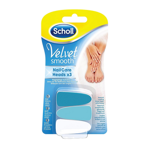 Scholl Velvet Soft Lime per Kit Elettronico Nail Care