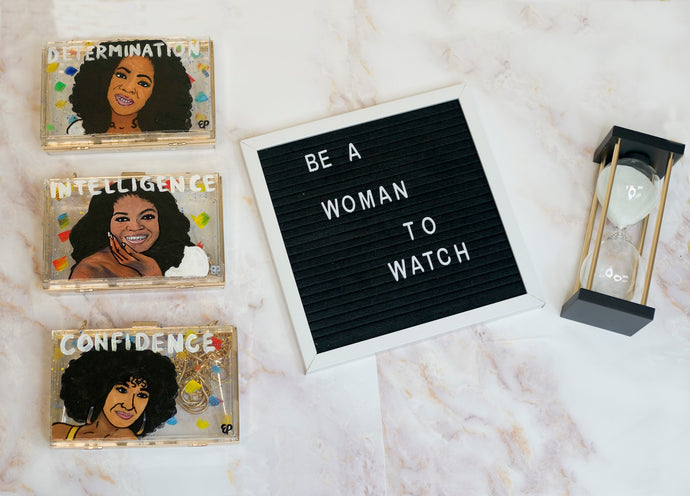 Be A Woman To Watch Clutch