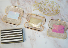 "Load image into Gallery viewer, ""Caged Elegance"" Clutch"