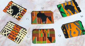 """Cut From A Different Cloth"" - Kente w/ Africa"