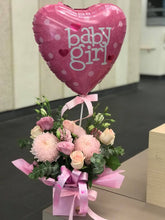 Load image into Gallery viewer, BABY PACKAGE - FLOWERS TEDDY & BALLOON